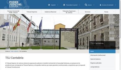 El Tribunal Superior de Justicia de Cantabria inaugura su Portal de Transparencia