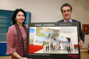 Cantabria se pone de largo en la feria de turismo con el Año Jubilar Lebaniego 2017 y los caminos de peregrinación