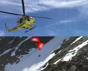 Rescate de un montañero con posible fractura de tibia y peroné en Peña Prieta