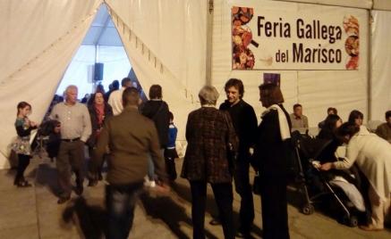 La I Feria Gallega del Marisco de Torrelavega este domingo