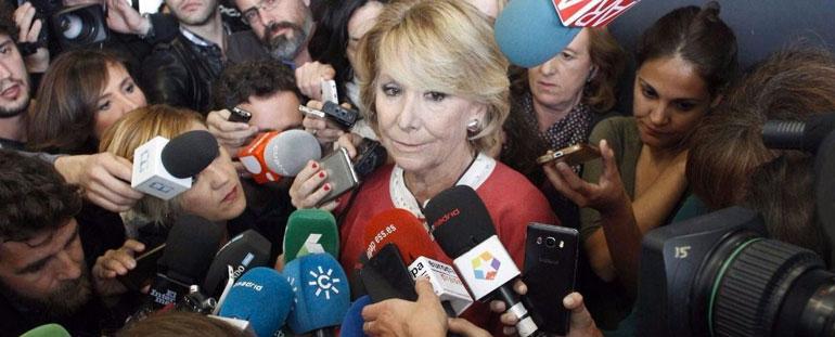 El PP de Rajoy deja sola a Esperanza Aguirre y la empuja a dimitir de sus cargos
