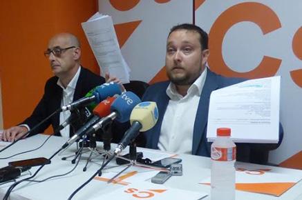 Ciudadanos desvela que el puesto de Carrancio en el Parlamento cuesta 12.000 euros al mes
