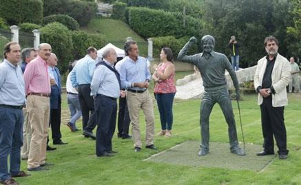 El Gobierno asiste al homenaje de Marina de Cudeyo a 'Seve'