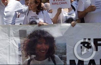 La familia adoptiva de Maloma y otras tres saharauis secuestradas en Tinduf convocan una cadena humana