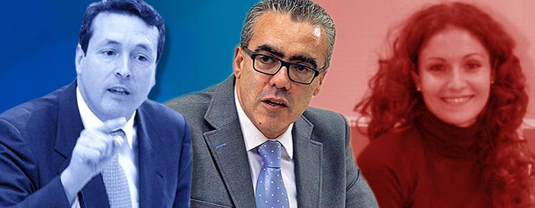 """PRC y PSOE no admiten las tesis de un PP que pretende dar lecciones """"cuando es incapaz de solucionar sus problemas"""""""