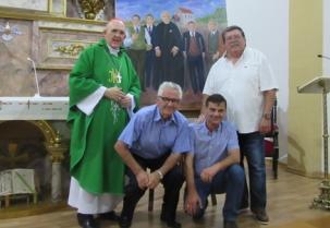 Visita del cardenal Osoro a Suances
