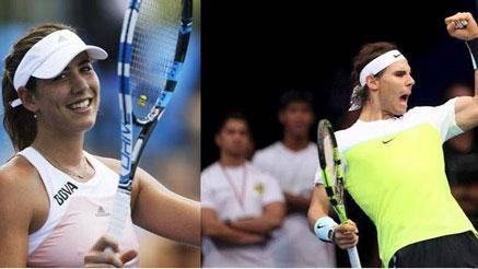 Nadal y Muguruza se coronan como rey y reina del tenis mundial