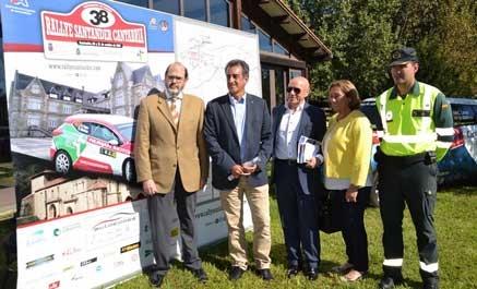 Presentado el 38 Rallye Santander-Cantabria