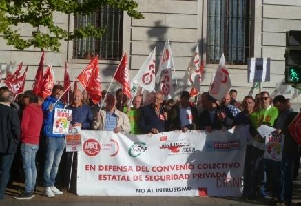 UGT respalda un principio de acuerdo de convenio colectivo de Seguridad Privada