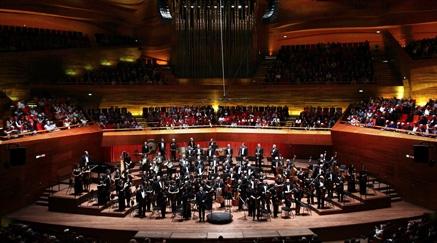 Llega al Palacio la orquesta de Armenia con compositores rusos