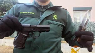 El atracador de la gasolinera de Arenas de Iguña, cometió delitos similares en ciudades de España