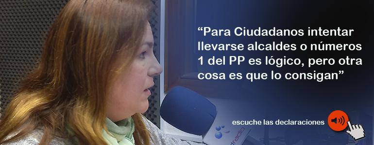 "La senadora Merino""en contra "" de que el PP de Buruaga expulse a militantes que se afilien a Lealtad Popular"