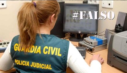 La Guardia Civil alerta no hacer caso a bulos que circulan por las redes en Cantabria