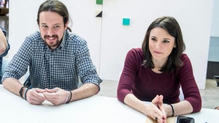 Pablo Iglesias e Irene Montero anuncian que esperan dos hijos