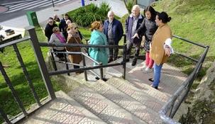 Santander invertirá 85.000 euros en la mejora de las escaleras del Parque de Recaredo