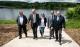 Obras Públicas construye una rampa en el Pantano del Ebro para facilitar el acceso de las embarcaciones