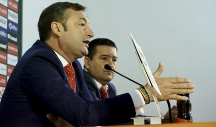"""""""El Racing es un proyecto de Primera y tiene que coger ritmo"""", apuntan el Presidente y el Vicepresidente del club"""