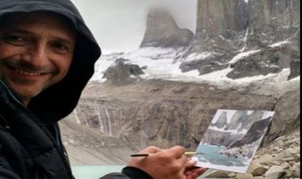 El pintor chileno Lorenzo Moya participa con una ponencia en Sianoja 18