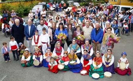Fiesta de fin de curso de la Escuela Municipal de Folclore de Torrelavega