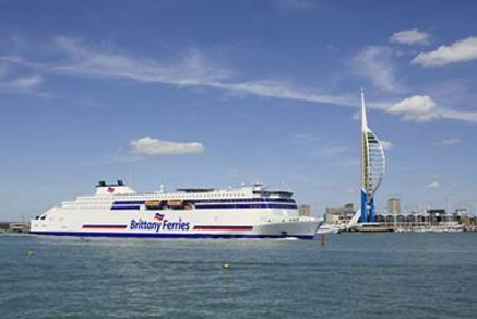 """Brittany Ferries bautiza a sus dos nuevos buques como """"Galicia"""" y """"Salamanca"""""""