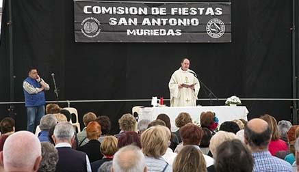 Arrancan las Fiestas de San Antonio en Muriedas