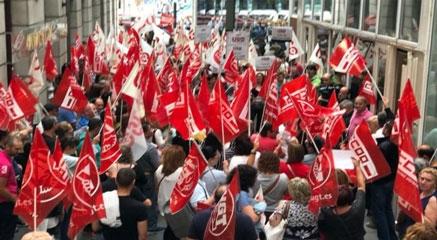 Los sindicatos convocan huelga general indefinida en la limpieza a partir del 1 de agosto