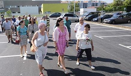 Inaugurado en Santander un nuevo aparcamiento en la Avenida del Deporte