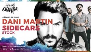 Dani Martín y Sidecars abren Los Conciertos de 'La Campa Santander'