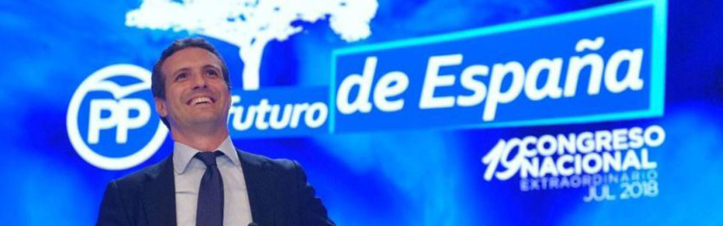 Casado nuevo presidente del Partido Popular, arrasa a Santamaría con casi el 60% de los apoyos