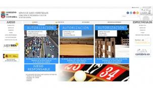 Habilitada una página web para la gestión de trámites e información sobre juego y espectáculos
