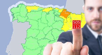 Cantabria se encuentra en aviso amarillo por lluvias a lo largo de este jueves