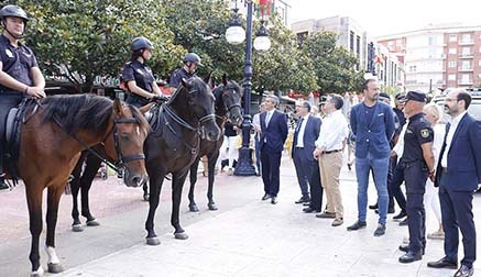 Se refuerza el dispositivo de seguridad organizado para las Fiestas Patronales de Torrelavega