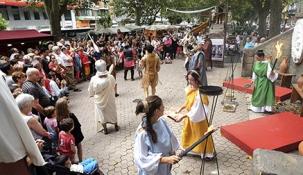 El Mercado Romano de los Santos Mártires contará con más de 130 puestos y 100 actividades