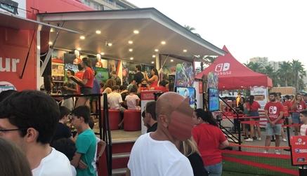 La plaza Porticada acoge desde el viernes un evento para aficionados a los videojuegos