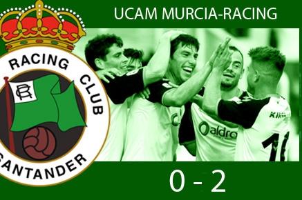 El Racing gana en Murcia y pasa a la siguiente ronda de la 'Copa'