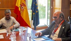 Oria pide al Ministerio que se retomen las obras del subfluvial de las Marismas de Santoña