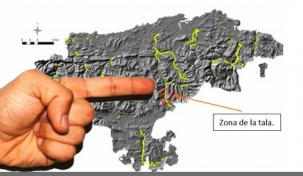La tala en Luena es incompatible con la declaración de 'Los Valles Pasiegos'  como Reserva de la Biosfera