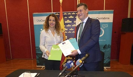OlaCantabria y Contigo Somos Democracia firman el acuerdo para ir juntos a las Elecciones Europeas