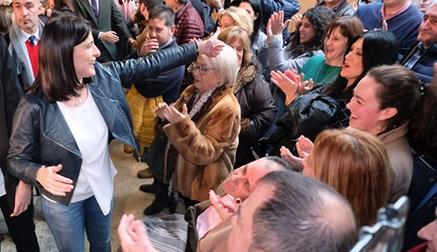 """Igual promete """"confianza, honradez y trabajo"""" para ser la primera mujer en ganar unas elecciones en Santander"""