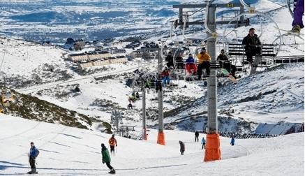 Alto Campoo abre este fin de semana con nieve artificial