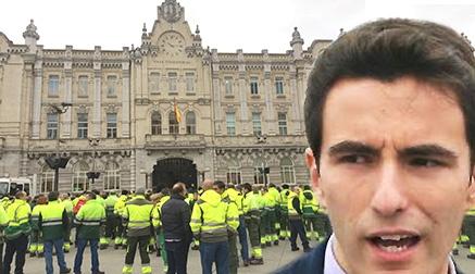 El PSOE apoya las reivindicaciones de los trabajadores de Parques y Jardines