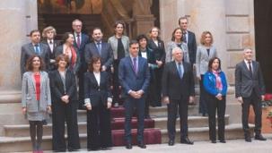 Estos son los mensajes de despedida de los ministross de Sánchez, 11 mujeres y 6 hombres