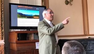 José López presenta a los afiliados su candidatura a las primarias de Cs