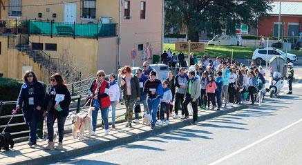 """Quinientos participantes se suman a la Marcha Solidaria """"Mi amigo y yo"""""""
