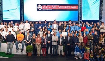 Homenaje al tejido deportivo de El Astillero en la XXIX Gala del Deporte