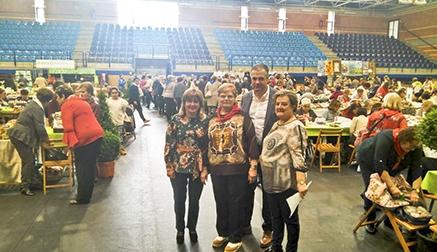 330 personas participaron en el V Encuentro de Encajeras