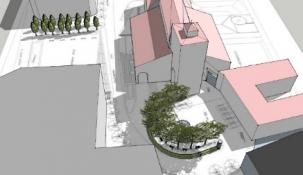 Senor se encargará de la remodelación de la plaza de Eguino y Trecu