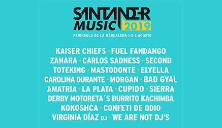 Kaiser Chiefs, Fuel Fandango, Cupido o Carlos Sadness, nuevas confirmaciones del Santander Music