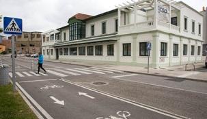 Camargo finaliza las obras del edificio de las antiguas oficinas de Cros que albergará la nueva Biblioteca Municipal
