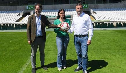 Racing, Ayuntamiento y LaLiga analizan las mejoras necesarias en el estadio de El Sardinero